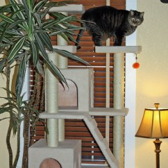 Living Room Idea Images Island Inspired Furniture Cat Condo / Tree | I Said Would Never Buy One Of ...