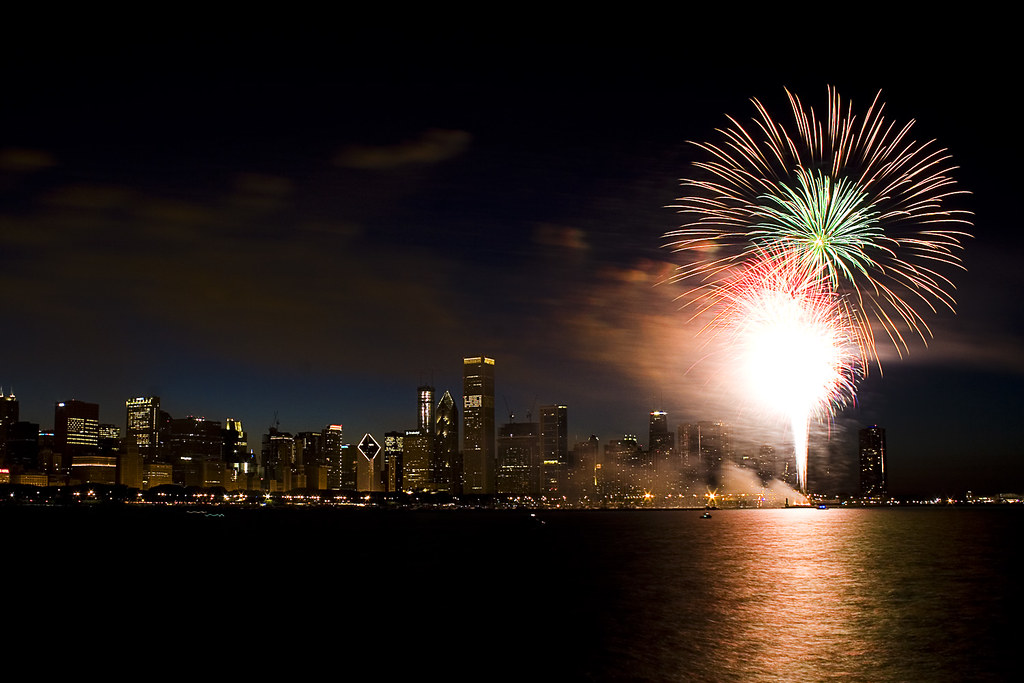 July 4th Fireworks Chicago  Chicago Fireworks Chicago
