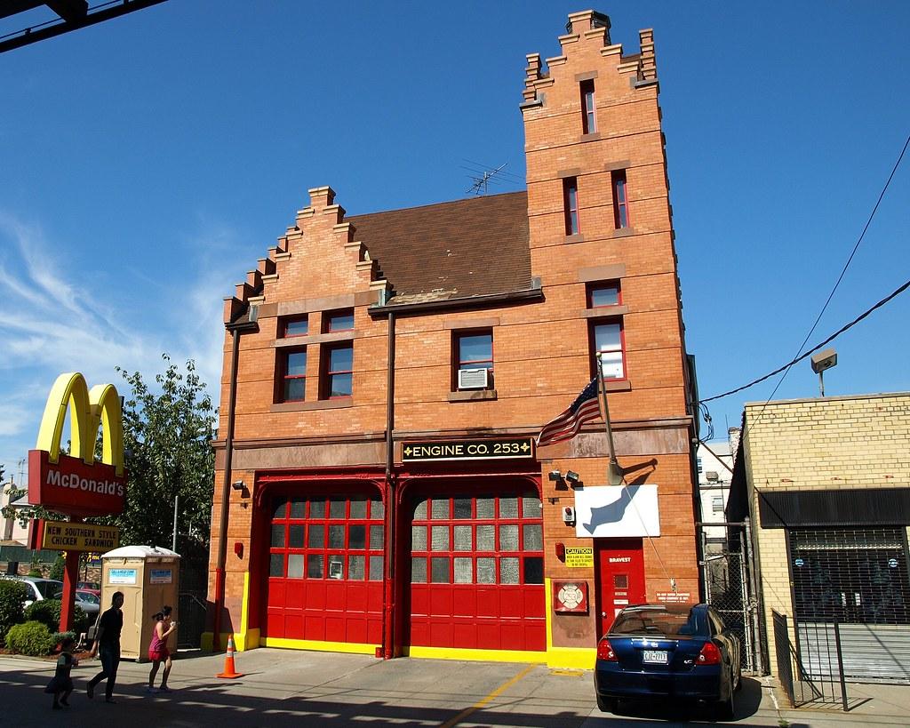FDNY Firehouse Engine 253 Bensonhurst Brooklyn New York