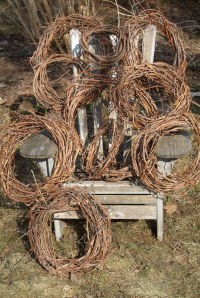 grape vine wreaths | wreaths made from vines pruned in our ...