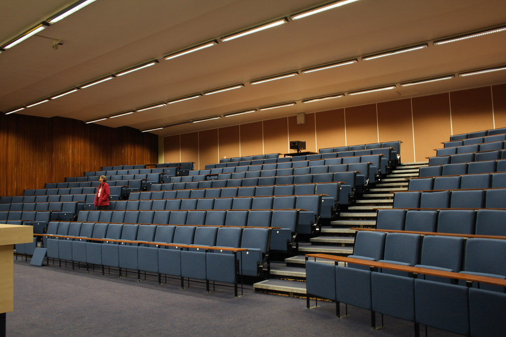 University of Liverpool Chadwick Lecture Theatre  In the