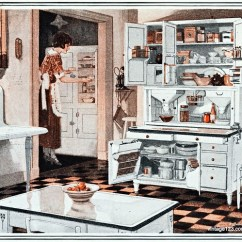Kitchen Cabinet Images Whitewash Cabinets 1923 | Taken From An Ad For Hoosier Plans ...