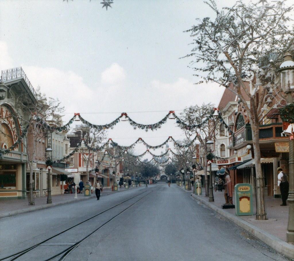 Main Street USA Disneyland Anaheim Dec 1966  Flickr