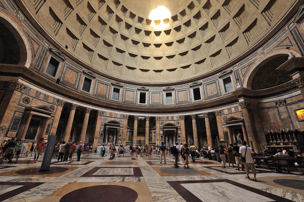 Pantheon interior Piazza del Rotonda  Brian Topp  Flickr