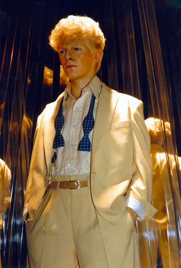 Bowie in Wax   All Rights Reserved  No Usage Allowed in