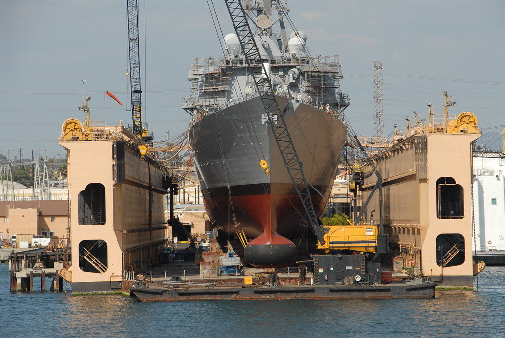 BAE Dry Dock  wwwportofsandiegoorg  Port of San Diego