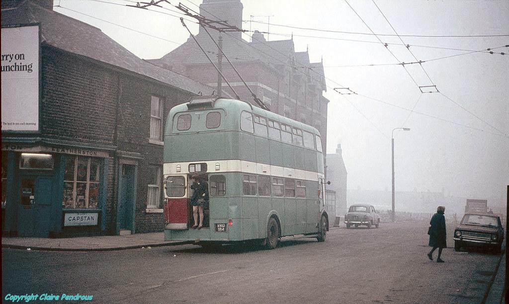 Smeaton Street North Ormesby Teesside 1970  A murky