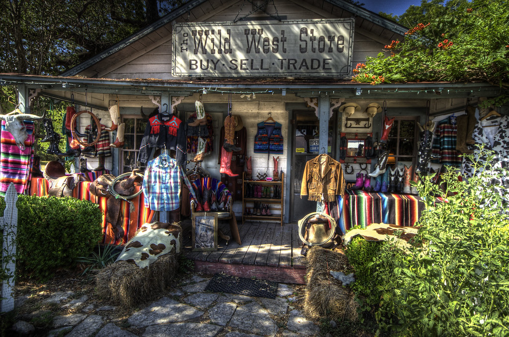 Wild West Store Wimberley Texas  This fascinating store