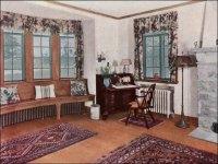 1930 Living Room - Ad for oak floors | A bit wordier ...