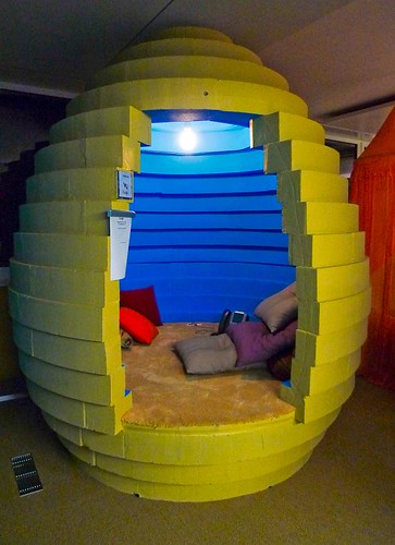google zurich office  egg meeting pods  patricia poon