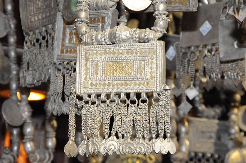 Omani Women Silver Jewellery Silver Jewellery Has Always