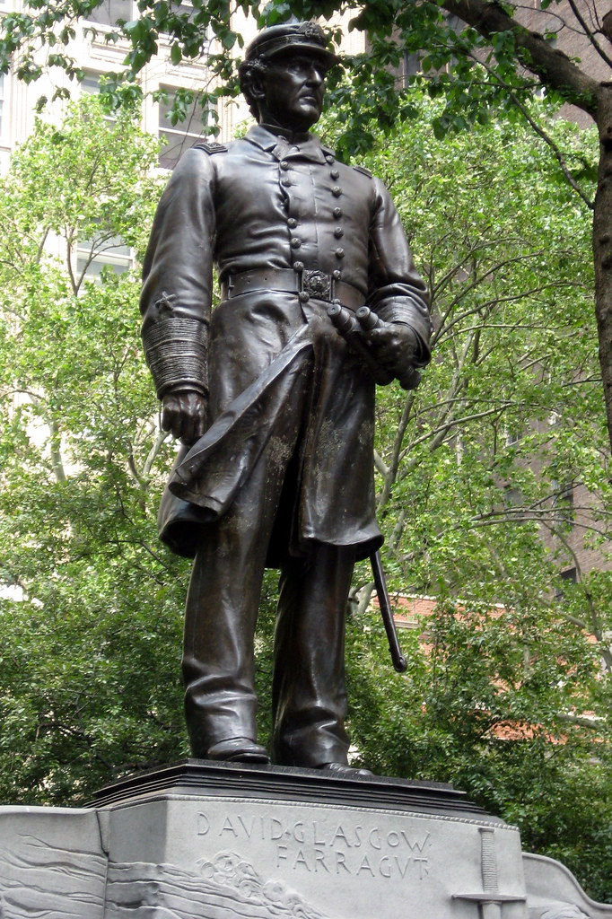 NYC Madison Square Park  Admiral Farragut Monument  Flickr