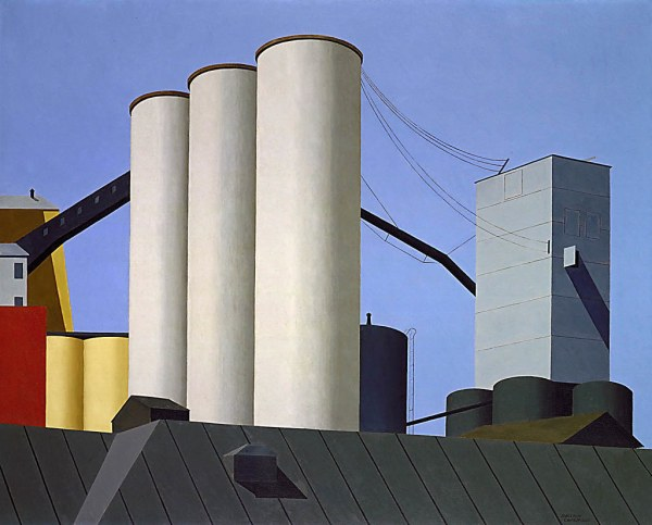 Ralston Crawford Buffalo Grain Elevators 1937