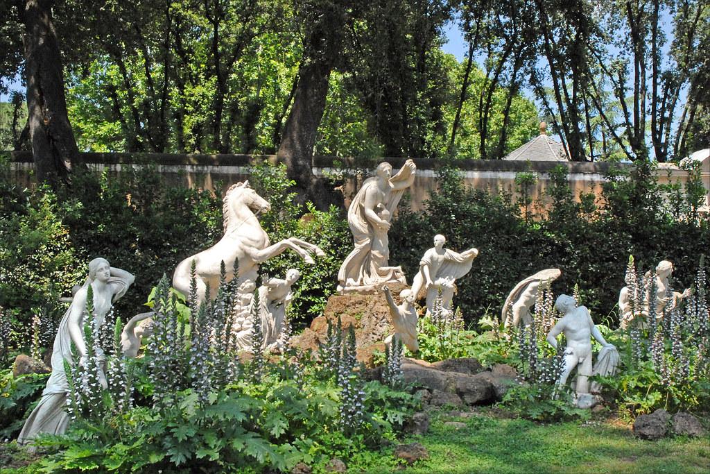 Le carr des Niobides de la villa Mdicis Rome  Le carr   Flickr
