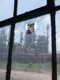 Bethlehem Steel Blast Furnace C | C Furnace through a ...