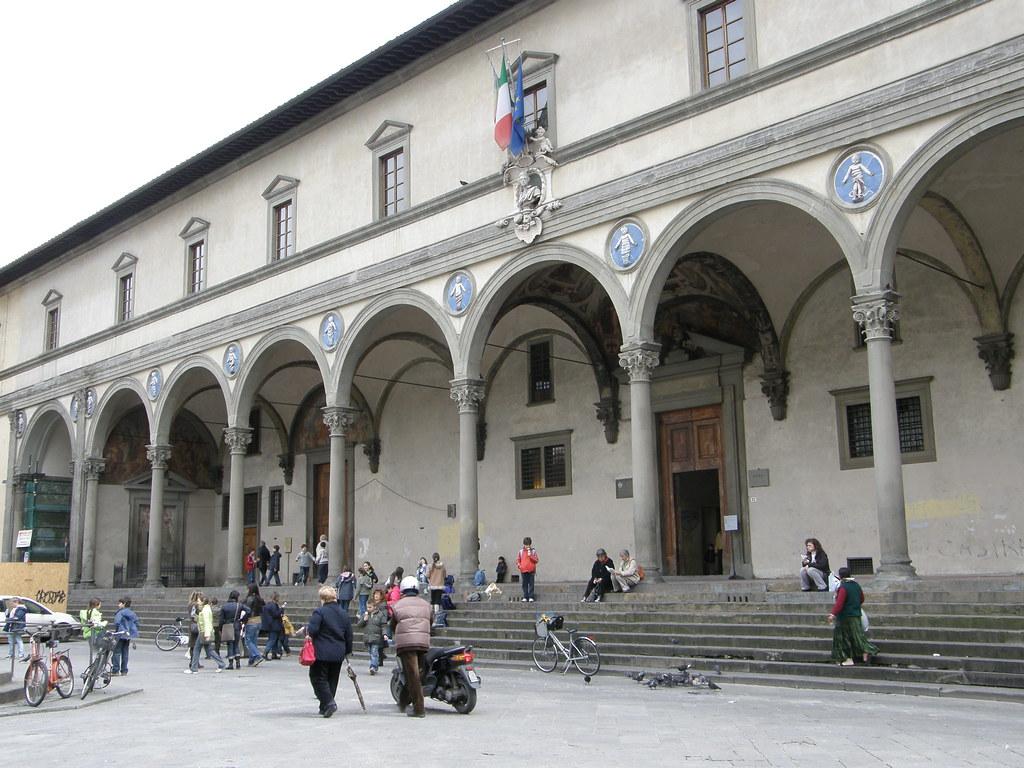 Firenze lo Spedale degli Innocenti  La facciata dello Sped  Flickr