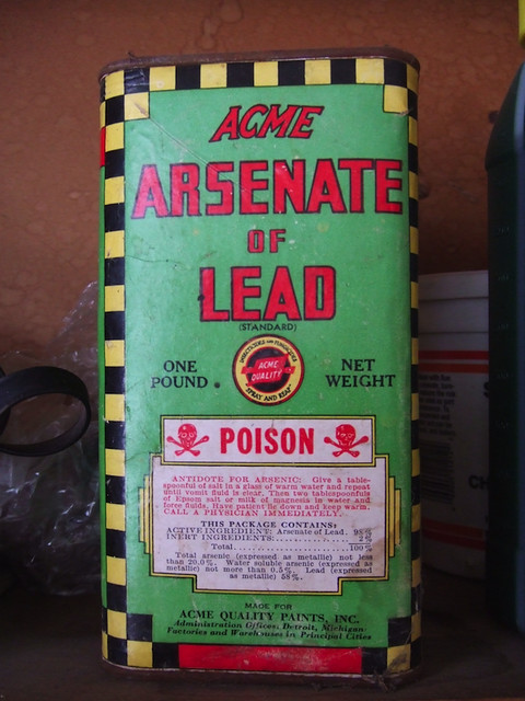 Acme Arsenate of Lead  Found in my parents garage The