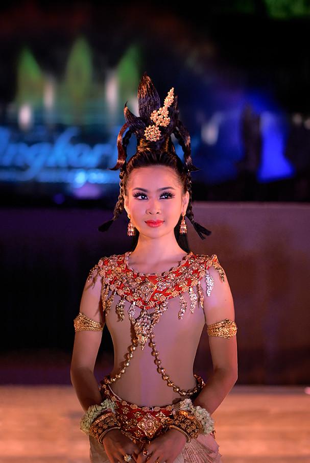 Apsara See On Black Background Apsara Cambodian Apsara