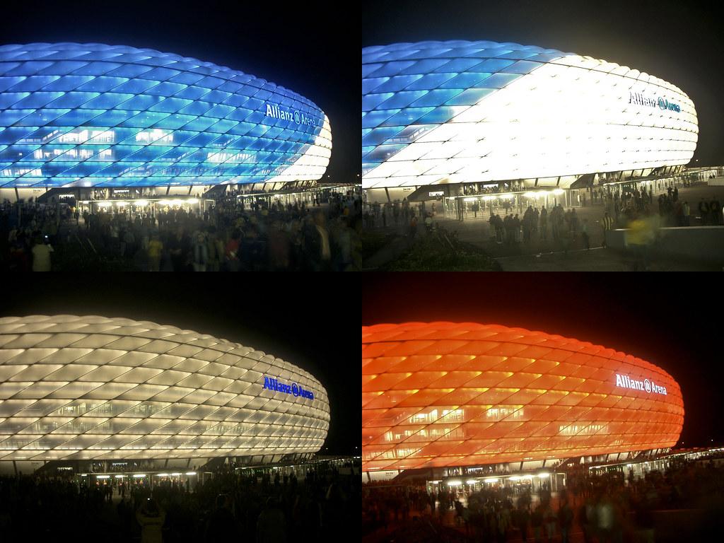 Allianz Arena Bayern Munich 3  The Allianz Arena in