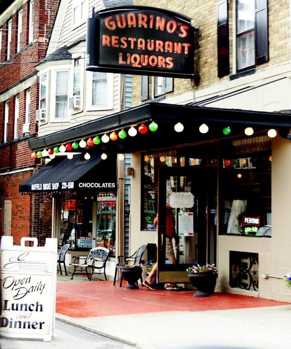 Guarino' Restaurant Little Italy; Cleveland Ohio
