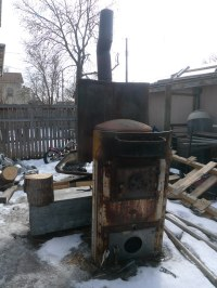 An old Octopus style coal furnace | Thirteen Of Clubs | Flickr