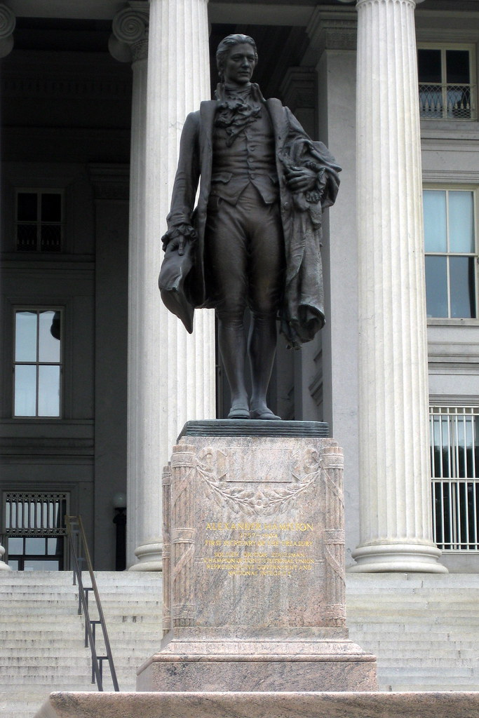 Washington DC Department of Treasury  Alexander Hamilton