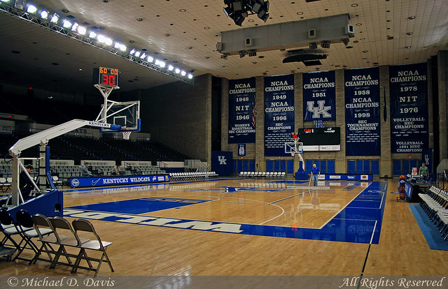 University of Kentucky Memorial Coliseum  My thanks to