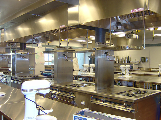 One of The French Culinary Institutes Pastry Kitchens