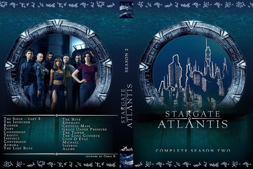 Stargate Atlantis  DVD Cover  Season 2  Season 2 folks