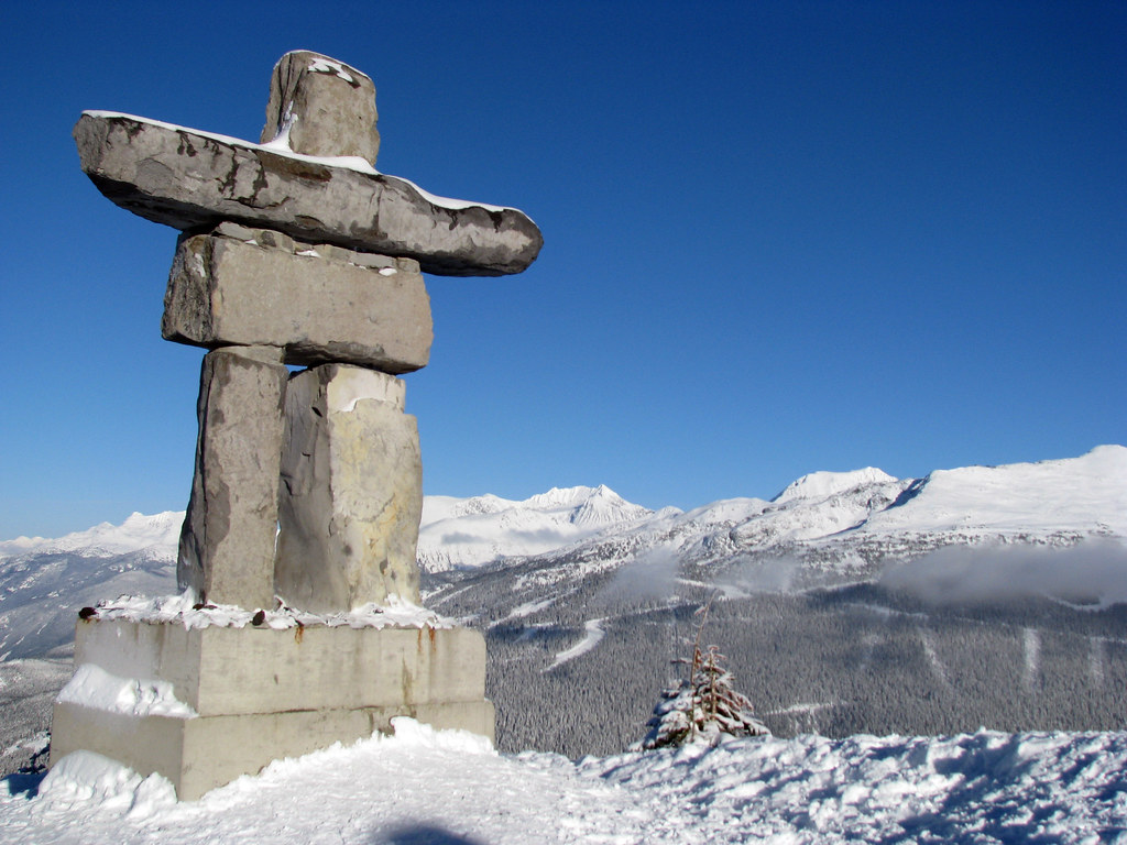 3d Stone Wallpaper Canada Inukshuk Official Symbol Of The Vancouver 2010 Winter Oly