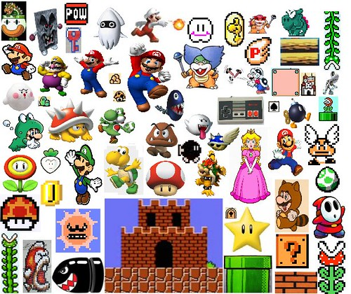 Super Mario Compilation I Love Super Mario Games