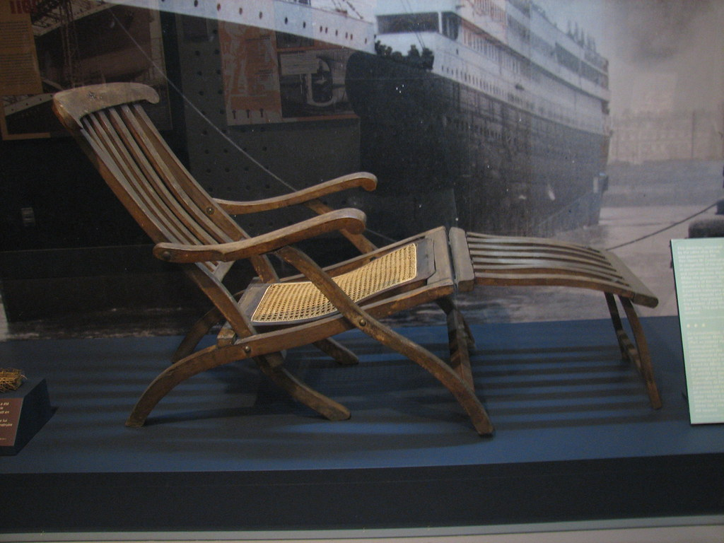 Titanic Deck Chair Titanic Deck Chair A Deck Chair From The Titanic
