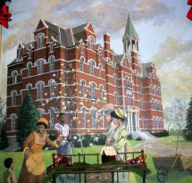 Opryland Ballroom Mural 1 Jubilee Hall In
