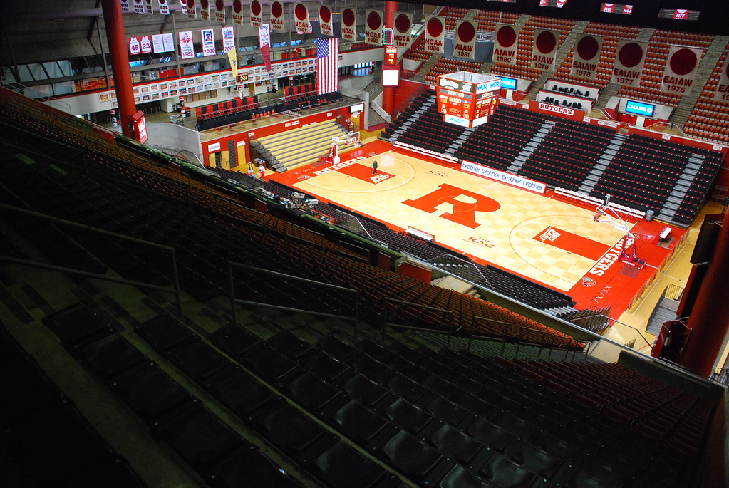 View from the top at the Louis Brown Athletic Center at Ru