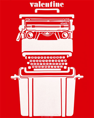 Olivetti Valentine Poster 2007 Poster To Accompany The