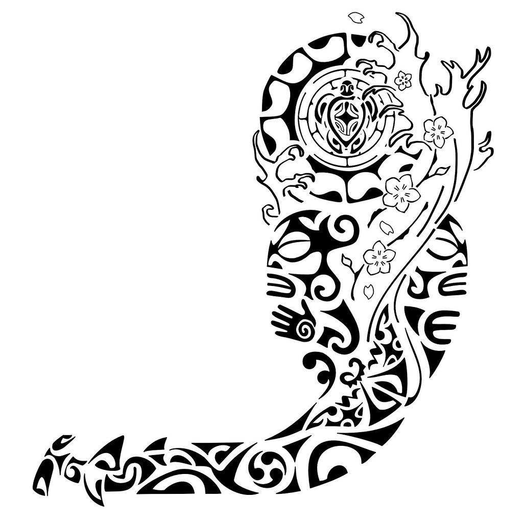 Tatuagem Polinesiaorirituhi Tatuagem Polinesia