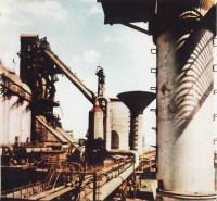 Blast furnace number 7 | Hunedoara steel factory also ...