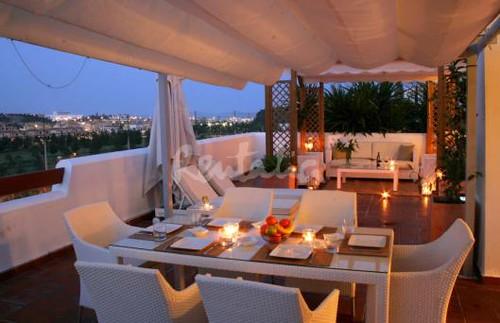 Apartamento de lujo  Terraza  Magnfico apartamento amuebl  Flickr