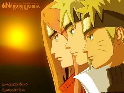 Wallpaper Naruto Hokage 3d Naruto Minato Kushina Naruto With His Parents Flickr