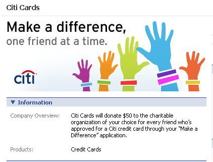 """Citi's """"make A Difference"""" Ad On Fb  Citi Cards Will"""