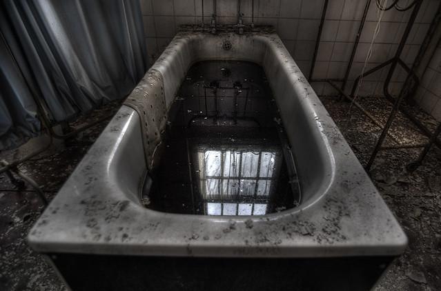 Cane Hill Abandoned Asylum Black Water Andre Govia