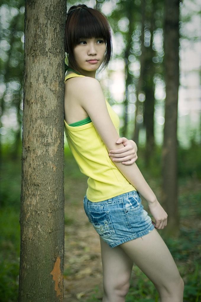 China Beautiful Girl Hd Wallpaper Chinese Cute Girl Xuan Zheng Flickr