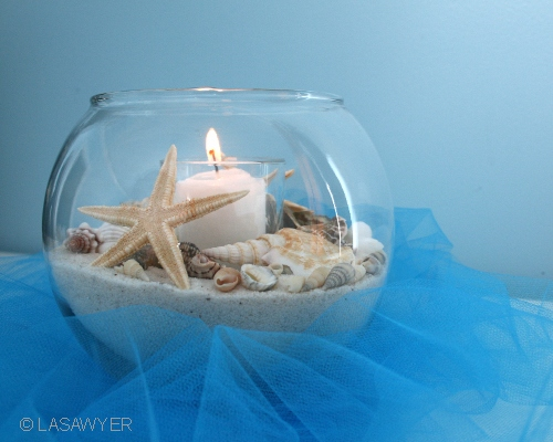Beach Centerpiece  Wedding Decoration  This beachthemed c  Flickr