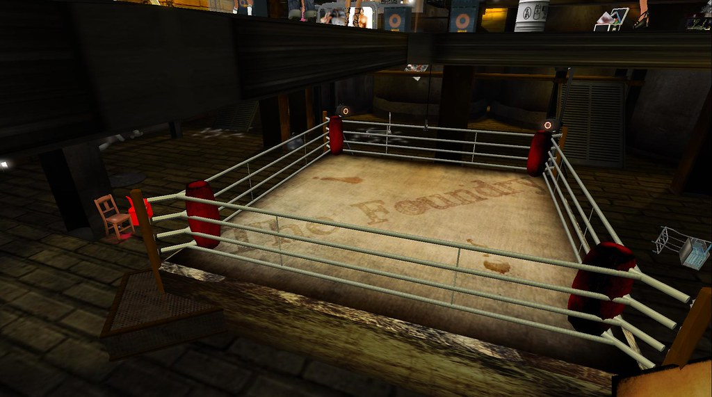 Anime World Wallpaper Boxing Ring At The Foundry Crosspost By Koinup