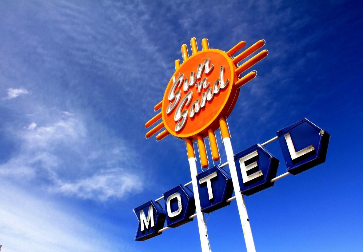 Sun 'n Sand Motel - 2026 Route 66, Santa Rosa, New Mexico U.S.A. - April 30, 2011