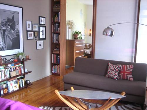 Real Homes Modern NYC apt Farrow  Balls London Stone  Flickr