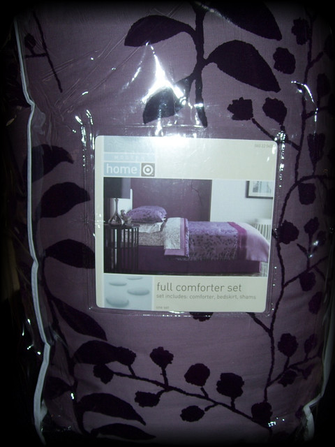 Twilight Bellas Purple Comforter  Featured at Twilight