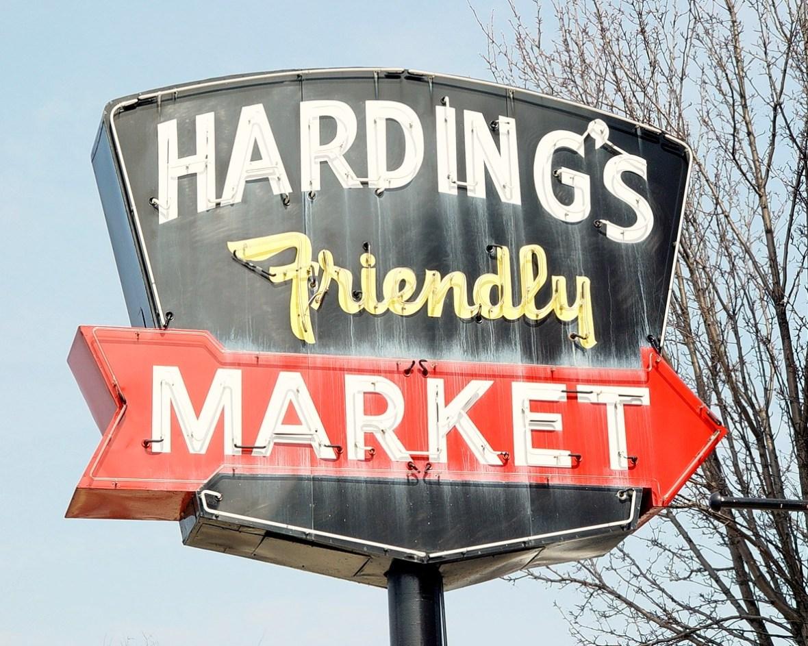 Harding's Friendly Market - Plainwell, Michigan U.S.A. - March 6, 2009