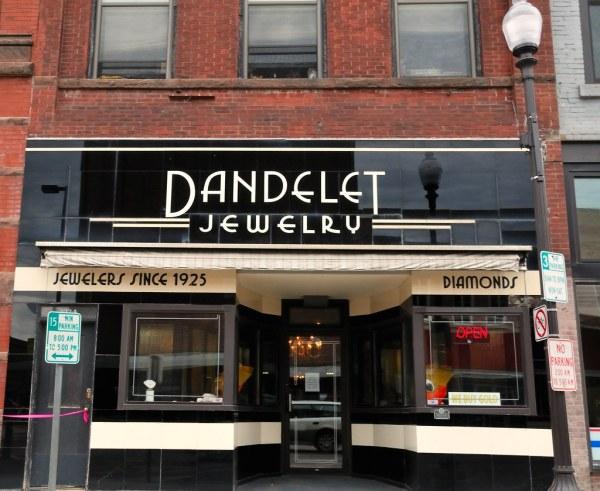 Dandelet Classic Vitriolite Jeweler' Facade In