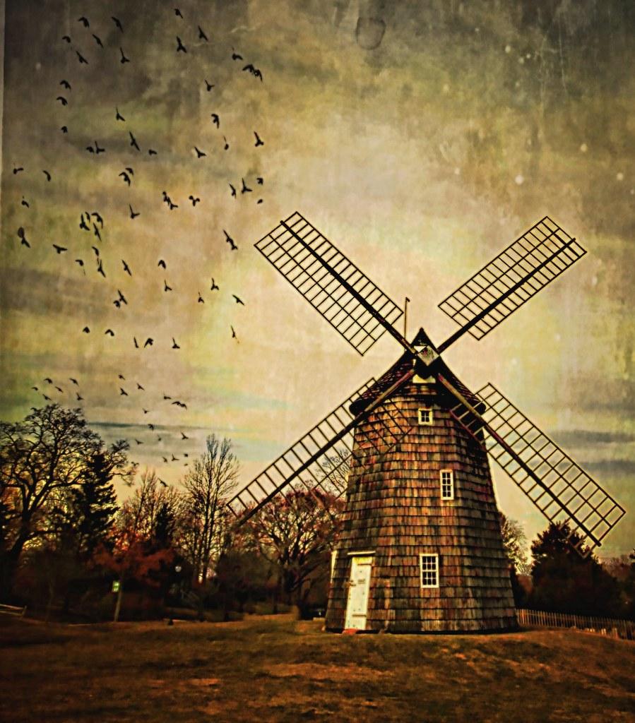 Old Hook Mill East Hampton Long Island Having An